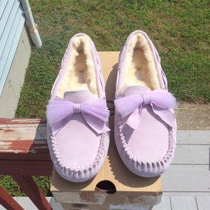 Ugg Dakota Tulle bow Slippers